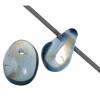 Glass Bead Droplet 4/6mm Aurora Borealis - Strung Montana
